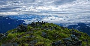 Montagne de Chandrasheel à 4500 mètres de haut Images libres de droits