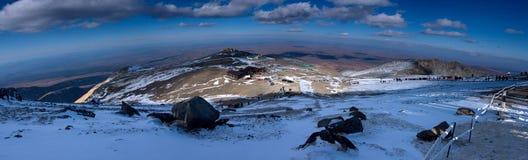 Montagne de Changbai Photographie stock libre de droits
