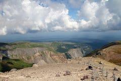Montagne de changbai de la Chine Image libre de droits