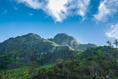 Montagne de Chiang Dao Photos libres de droits