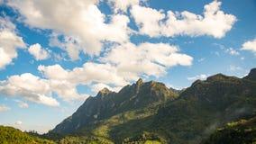Montagne de Chiangdao Photographie stock