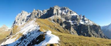 Montagne de Chli Windgaellen image libre de droits