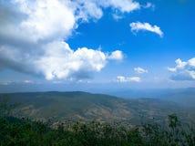 montagne de ciel Images libres de droits