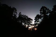 Montagne de colline de Chillai à Taïwan Photographie stock