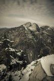 Montagne de couronne images stock