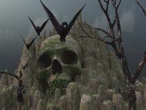 Montagne de crâne Photographie stock libre de droits
