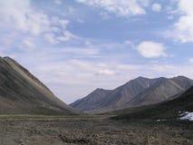 Montagne de désert Image stock