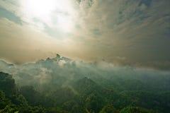 Montagne 2013 de Danxia Image libre de droits
