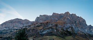 Montagne de Daubenhorn images stock