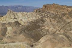 Montagne de Death Valley Photographie stock