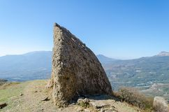 Montagne de Demerji en Crimée près d'Alushta Images stock