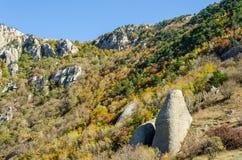 Montagne de Demerji en Crimée près d'Alushta Photo libre de droits
