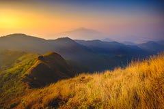 Montagne de Doi Pawee images stock