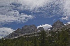 Montagne de dolomites Image libre de droits