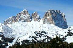 Montagne de Dolomiti, trentino, Italie Photographie stock libre de droits