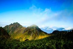 Montagne de Fansipan photos stock