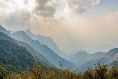 Montagne de Fansipan Images stock