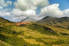 Montagne de Fansipan image stock
