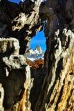 Montagne de Fitz Roy, Argentine images libres de droits