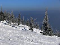 montagne de flanc de coteau Photographie stock