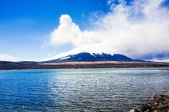 Montagne de Fuji du Japon Image libre de droits