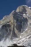 Montagne de géologie Photo libre de droits
