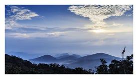 Montagne de Genting Photos libres de droits