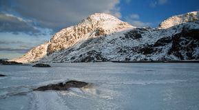 Montagne de glace Image libre de droits