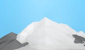 Montagne de glace Photo libre de droits