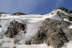 montagne de glacier Photo stock
