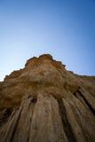 montagne de grès Photos libres de droits