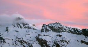 Montagne de Gran Paradiso Images libres de droits