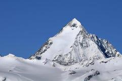 Montagne de Gran Zebru (Koenigspitze) Photographie stock libre de droits