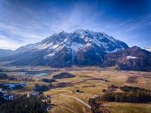 Montagne de Grimming en Styrie, Autriche Photo libre de droits