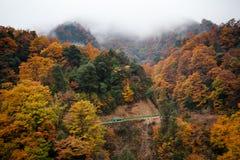 Montagne de Guangwu en automne Images libres de droits