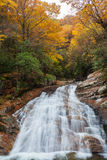 Montagne de Guangwu en automne Image stock