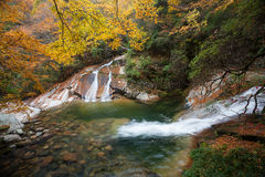 Montagne de Guangwu en automne Photo stock