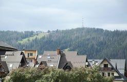 Montagne de Gubalowka de ville de Zakopane Photos stock