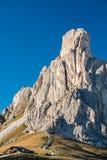 Montagne de Gusela de La, Passo Giau, dolomites Image stock