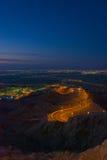Montagne de Hafeet Photos stock