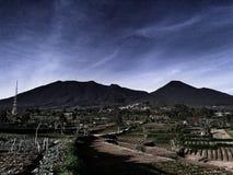 Montagne de hdr Photos libres de droits