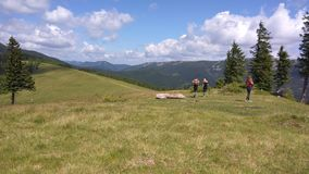 Montagne de Homyak image stock