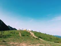 montagne de Hong Kong Photos libres de droits