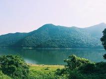 montagne de Hong Kong Photographie stock libre de droits