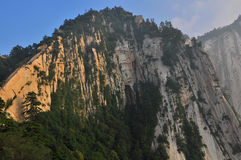 montagne de Hua-Shan Images libres de droits