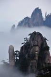 Montagne de Huangshan Photos libres de droits