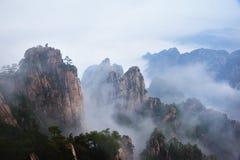 Montagne de Huangshan Image stock