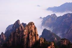 Montagne de Huangshan Photographie stock