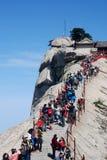 Montagne de Huashan Photos stock