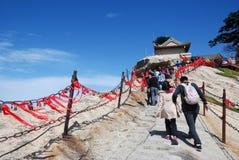 Montagne de Huashan Photographie stock libre de droits